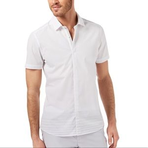 Ryan Seacrest Distinction men's XXL white shirt